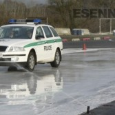 Výcvik Policie ČR ve škole smyku Sosnová